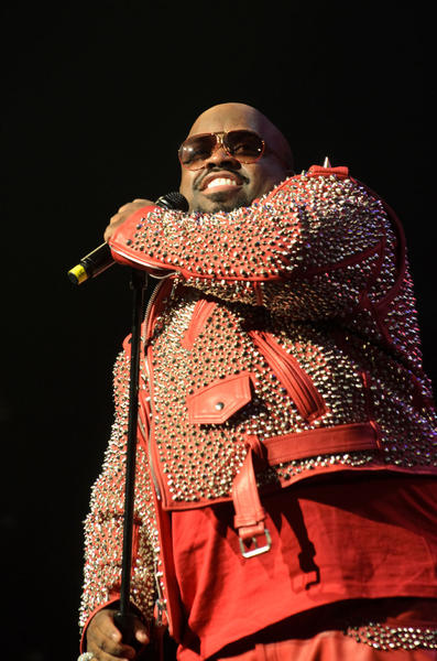 'The Voice' judge Cee Lo Green brought his soulful brand of funk-hop to MGM Grand for a special Friday the 13th performance.