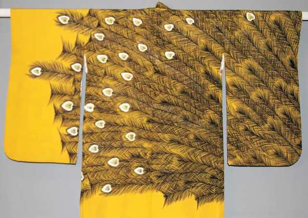 Haori (Short Jacket) Japan, c. 1950 Silk crepe, metallic thread Pacific Asia Museum Collection Gift of James D. Stewart.