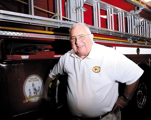 Former Washington County Volunteer Fire and Rescue Association President Glenn Fishack.
