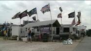 Thousands made the trek to Texas Motor Speedway Saturday for the Samsung Mobile 500, and for many, it was a day battling the wind.