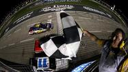 Greg Biffle wins heated battle against Johnson for Texas win