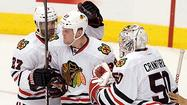 Blackhawks even series with 4-3 victory in OT