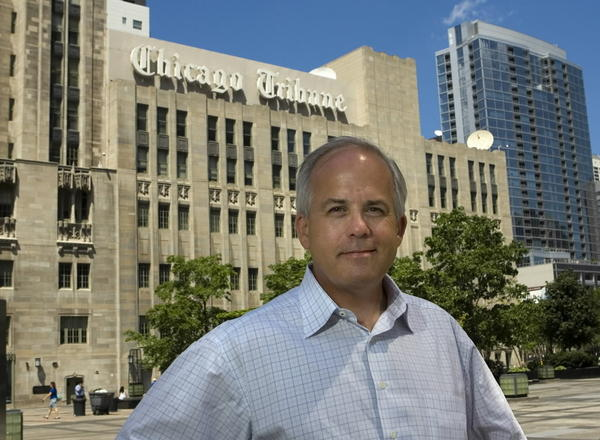 Chicago Tribune Editor Gerould Kern