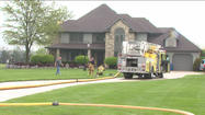 Lightning strike sparks house fire in Elkhart County