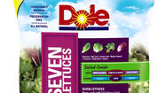 Cases of bagged salad distributed by Dole Fresh Vegetables have been recalled because a New York state test of some of the salad found salmonella contamination, the company has announced.