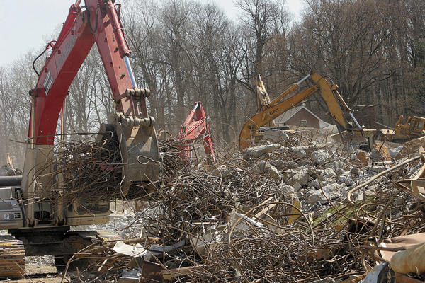 The demolition of U.S. Army barracks on the grounds of the former Fort Ritchie was supposed to make way for development. However, development of the property, which is owned by Columbia, Md.-based Corporate Office Properties Trust, or COPT, has been stalled as officials await the results of a supplemental environmental impact statement.
