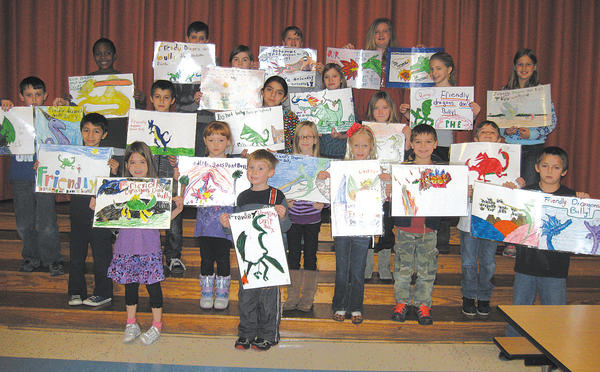Front row, from left, Annie Smith, Duncan Wilson and Kash Krieman. Second row, Pablo Lazo, Patience Wagner, Brooke Keller, Lauren Toms, Huddsen Reisinger and Ethan Caudo. Third row, Carson Casey, Yauz Yakhuzov, Ana Mooney and Madison van Dyke. Fourth row, Jordan Green, Nathan Haupt, Hannah Nance, Emily Askin and Olivia Paulson. Fifth row, Donavyn Wilson, Aaron Kline and Madison Willard.