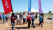 GALLERY: Calexico relay for life wrap