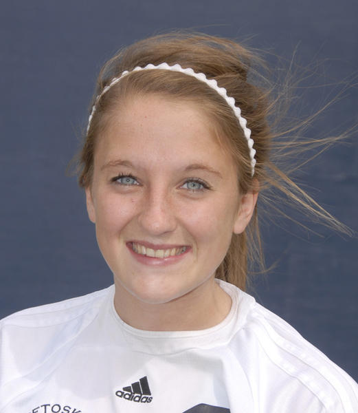 Gabbi Vandenbrink had a hat trick in lead the Petoskey High School girls soccer team to a 4-0 win Friday over Elk Rapids.