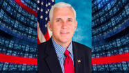 Representative Mike Pence's campaign announced Monday that it has raised $1.8 million during the year's first quarter, setting a fundraising record.
