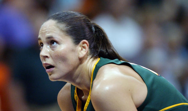 Sue Bird was taken No. 1 overall in the 2002 WNBA Draft.