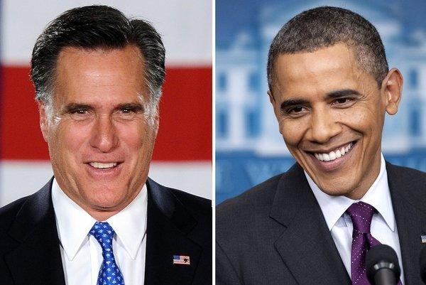 Gallup's inaugural tracking poll shows Mitt Romney, left, with a 47% to 45% lead over President Obama among registered voters nationwide.