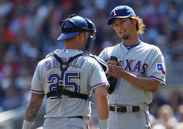 Pitcher Yu Darvish, right, has gotten most of the attention, but a lot more is going on with the Rangers.