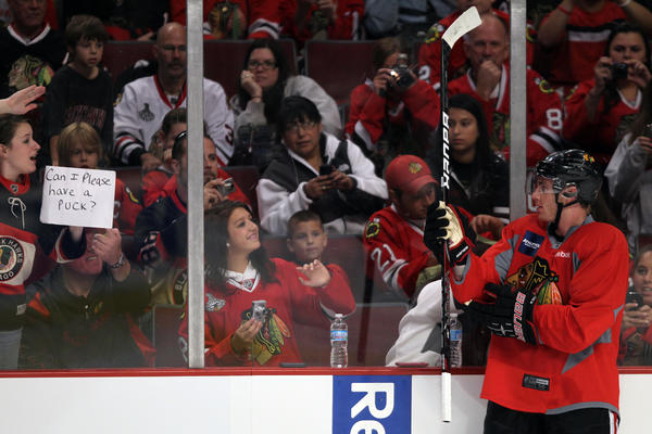Chicago fans have reconnected with the Blackhawks in a big way.