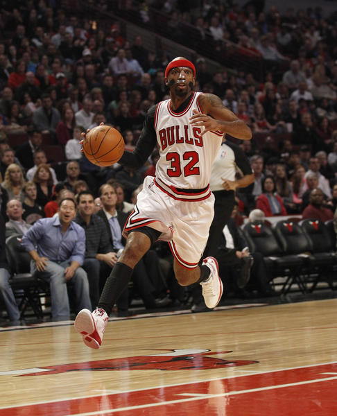 Richard Hamilton scored 22 points for the Bulls in their loss to the Wizards on Monday.