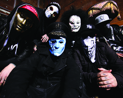 Hollywood Undead is one of the headline acts for Rockfest on July 13. Courtesy photo