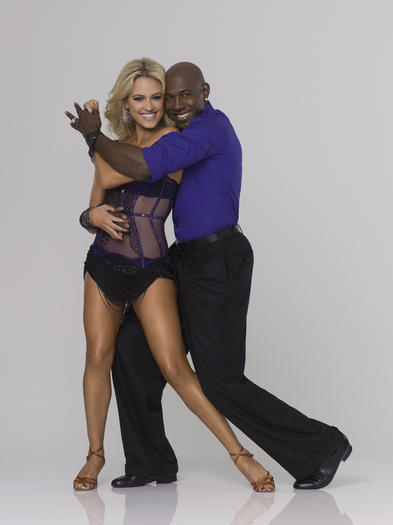 Super Bowl champion Donald Driver joins Peta Murgatroyd, who returns for her second season as a professional partner.
