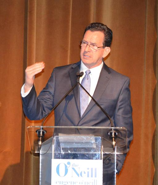 Connecticut Gov. Dannel P. Malloy attended the 12th annual Monte Cristo Awards in New York April 16.
