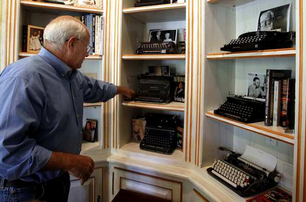 Steve Soboroff, the investor and civic leader, has a not-so-secret passion for typewriters. He owns machines once used by notables such as John Lennon, Joe DiMaggio, George Bernard Shaw and Ernest Hemingway.