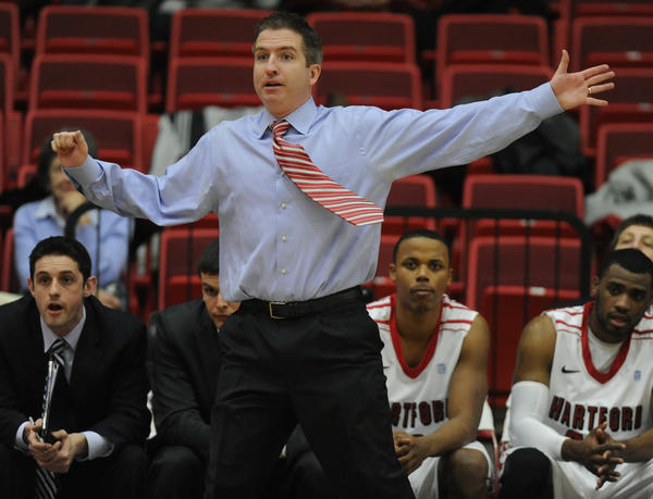 John Gallagher, Hartford coach, looks to take excitement of season's end into next season.