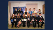 The Berlin Brothersvalley FFA members honored Paul and Stacy Wheeler of Somerset with honorary membership during their 72nd annual FFA banquet at the Berlin Community Building.