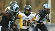 Terrance West, 21, running back, Towson University