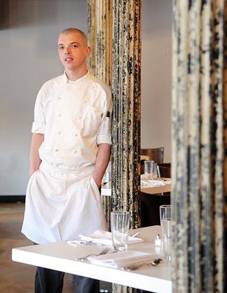 """<b>CHRISTOPHER BECKER, 27<br>  Executive chef, The Wine Market    <a class=""""taxInlineTagLink"""" id=""""PLGEO100100603012300"""" title=""""Mount Washington"""" href=""""/topic/us/maryland/baltimore-county/baltimore/mount-washington-PLGEO100100603012300.topic"""">Mount Washington</a></b><br> <br> This time of year, Christopher Becker's favorite food to make is gnocchi and dumplings. He says he can't wait for spring, when he'll experiment with chicken liver-stuffed smoked morels.  """"I just love to cook,"""" he explains. """"Always have.""""<br> <br> Becker's being modest. He presides over a staff of a dozen at the highly regarded Wine Market in <a class=""""taxInlineTagLink"""" id=""""PLGEO100100603012000"""" title=""""Locust Point"""" href=""""/topic/us/maryland/baltimore-county/baltimore/locust-point-PLGEO100100603012000.topic"""">Locust Point</a>, where he quickly moved up the ranks to executive chef in just a few years. Not bad for a guy who started in the business washing dishes at 14. It started with his mother, Donna, who raised Becker in <a class=""""taxInlineTagLink"""" id=""""PLGEO100100612040000"""" title=""""Ellicott City"""" href=""""/topic/us/maryland/howard-county/ellicott-city-PLGEO100100612040000.topic"""">Ellicott City</a> and his siblings as a single mom.<br> <br> """"My mother was always a really big do-it-yourself lady,"""" Becker says. """"She made her own yogurt, ricotta and bread. She turned me onto food.""""<br> <br> Though he misses the rush of being a line cook, he revels at the chance to change things up at The Wine Market (the next food he wants to take on: smoked eel). And he still finds time to talk to his mom about food -- and get encouragement.<br> <br> """"There's nights when I come home and it's just wearing me down and I complain about something,"""" he said. """"She's a tough lady, Baltimore born and raised. She'll just say, 'Shut up. You'll be all right.'"""" <a href=""""mailto:jordan@bthesite.com"""">JORDAN BARTEL, B</a>"""