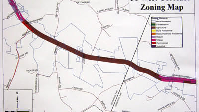 The Somerset County Planning Commission is one step closer to approving zoning regulations for the Route 31 corridor after a public meeting Tuesday.