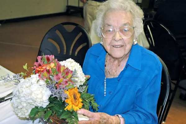 Gertrude Ness will celebrate her 106th birthday on April 22. She attended the Glendale Beautiful Annual Award Luncheon at the Joe Bridges Clubhouse in Glendale.
