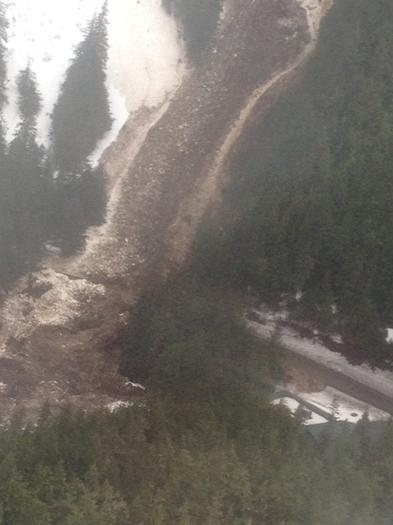 Avalanche Blocks Highway in Cordova