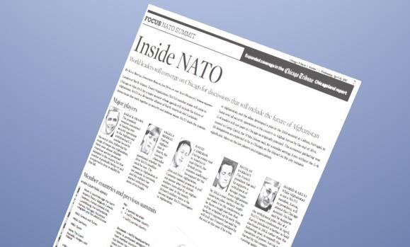 Illustrating the NATO summits