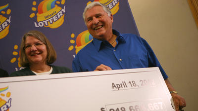 Quick pick's a Mega Millions winner for retired Red Bud couple