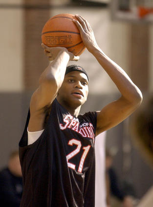 The sixth-year pro from Baltimore is currently the Memphis Grizzlies' top scorer (19 points per game). A former first-round draft pick, Gay made the 2007 NBA All-Rookie team after a stellar two years at Connecticut, where he won National Freshman of the Year and second-team All-American honors. At Archbishop Spalding, he was a McDonald's All-American and The Sun's Co-Player of the Year.