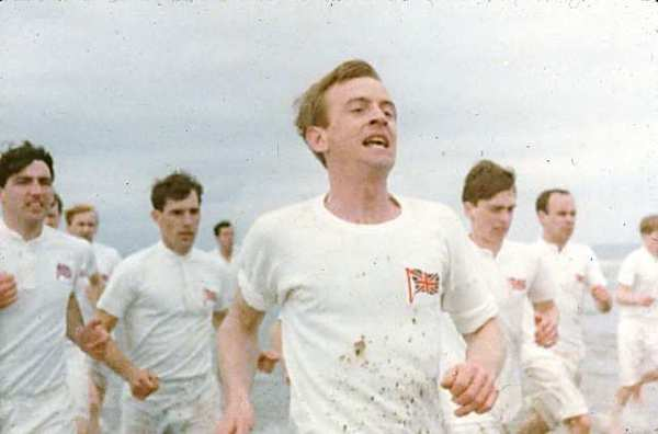 "A scene from the 1981 Oscar-winning movie ""Chariots of Fire."""