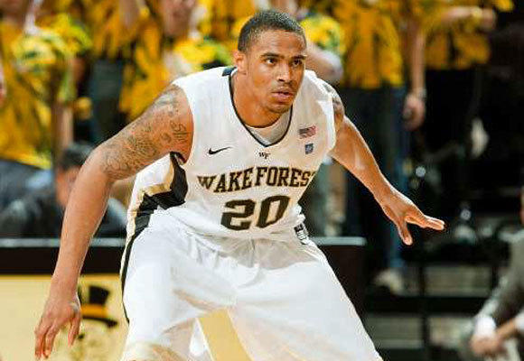 Ari Stewart with Wake Forest in 2010.