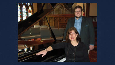 Melissa Kaim and Bryan Lohr will be performing in concert Sunday at St. Paul's UCC.