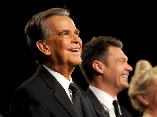 Remembering Dick Clark: Dick Clark attends the 37th Annual Daytime Entertainment Emmy Awards held at the Las Vegas Hilton on June 27, 2010.