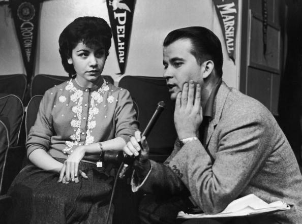 Dick Clark and Annette Funicello.