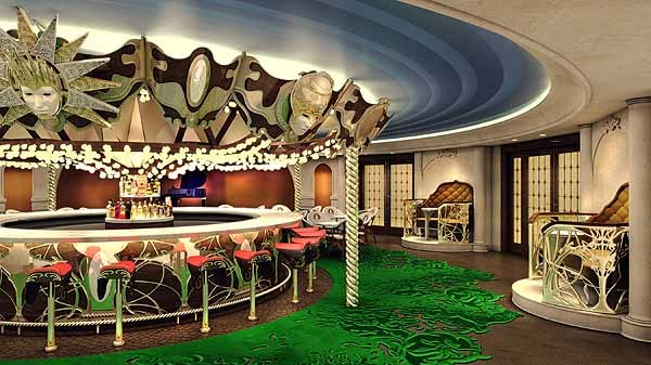 Florida Cruise Guide: Disney Fantasy pictures - Disney Fantasy renderings -- La Piazza at Europa