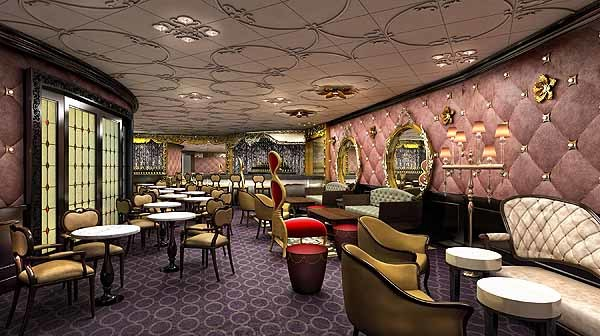Florida Cruise Guide: Disney Fantasy pictures - Disney Fantasy renderings -- Ooh La La at Europa