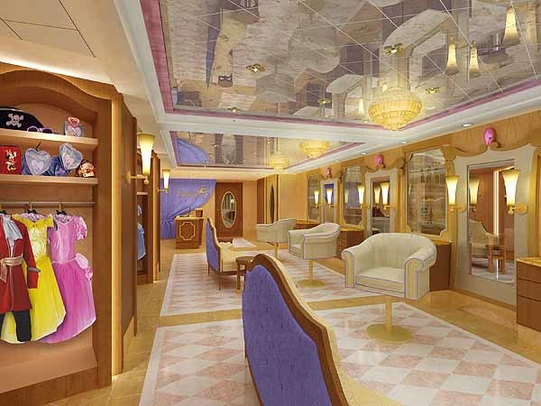 Florida Cruise Guide: Disney Fantasy pictures - Disney Fantasy renderings -- Bibbidi Bobbidi Boutique