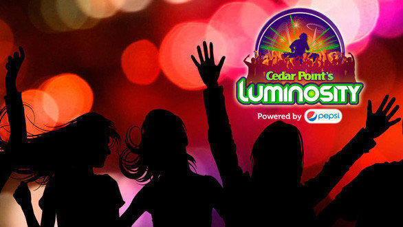 Luminosity nighttime spectacular at Cedar Point