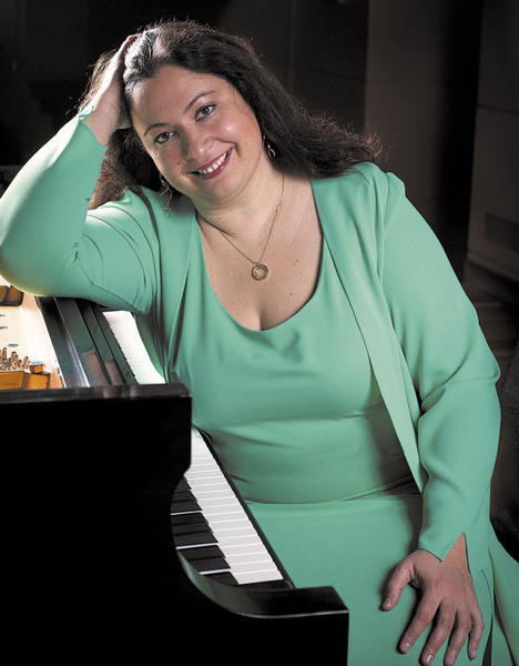 Pianist Yuliya Gorenman will perform Rachmaninoffs challenging Piano Concerto No. 3 with the Maryland Symphony Orchestra at concerts on Saturday, April 21, and Sunday, April 22.