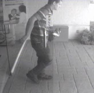 The FBI is searching for the man who robbed a Bank Atlantic branch in Deerfield Beach