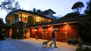 Coyote House: Study in green in Montecito