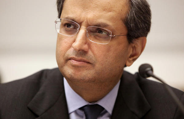 Citigroup Chief Executive Officer Vikram Pandit testifies on Capitol Hill in Washington before the House Financial Services Committee.