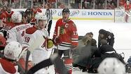 If the Blackhawks truly want to retaliate Thursday night for Raffi Torres' dirty hit on Marian Hossa, the most satisfying method will be measured on the scoreboard and not in the penalty box.