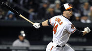 CHICAGO — Orioles left fielder and leadoff hitter Nolan Reimold attributes his recent offensive tear to making one small step forward.