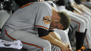 Orioles right-hander Tommy Hunter grasped for answers after his team's 8-1 loss to the White Sox on Wednesday night at U.S. Cellular Field.