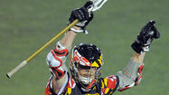 Owen Blye tied a season high with four goals in No. 8 Maryland's 9-6 victory over No. 9 Johns Hopkins Saturday night, and the junior attackman isn't shy about voicing his hope that his outburst made a statement to future opponents.